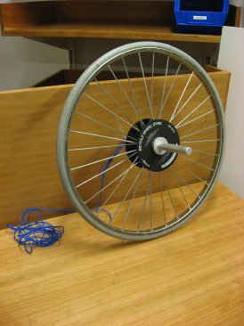 bike wheel gyro