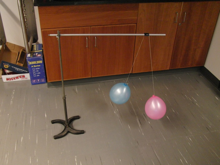 charged balloons