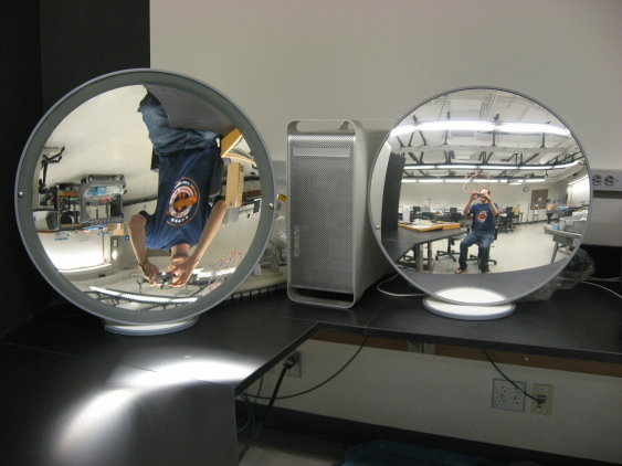 Concave Convex Mirrors Swarthmore Physics Demonstrations
