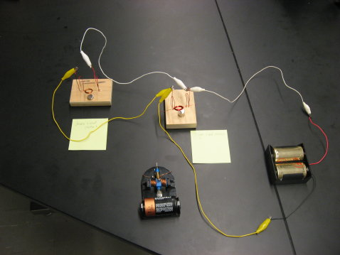 Crude Generator and Motor demo picture