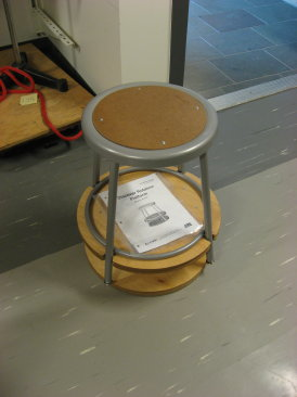 rotating stool