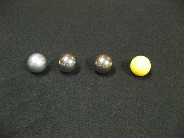 rotational inertia balls