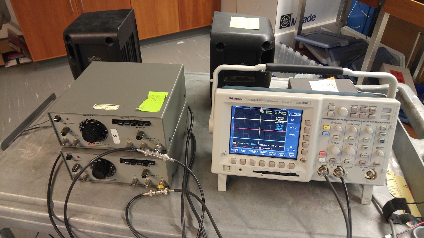 Beats Demo | Swarthmore Physics Demonstrations